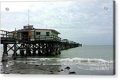 Redington Beach, Florida Fishing Pier Acrylic Print