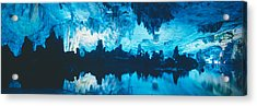 Reed Flute Cave In Guilin, Guangxi Acrylic Print by Panoramic Images