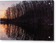 Reflect Acrylic Print by Kristopher Schoenleber