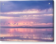 Reflections At Sunset In Key Largo Acrylic Print