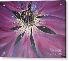 Acrylic Print featuring the painting 1 by Reina Resto