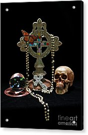 Acrylic Print featuring the photograph Reincarnation by Dodie Ulery
