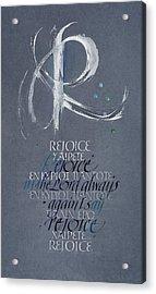 Rejoice I Acrylic Print