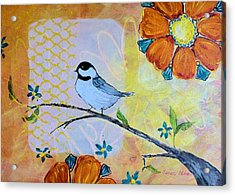 Rejoice Acrylic Print by Susan Fisher