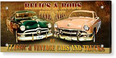 Relics And Rods Acrylic Print