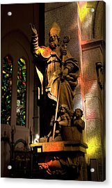 Acrylic Print featuring the photograph Religion by Urft Valley Art