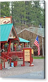 Acrylic Print featuring the photograph Rendezvous Diner by Juls Adams