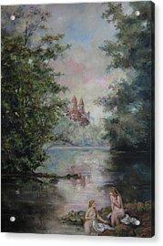 Renoir Lives Here Acrylic Print