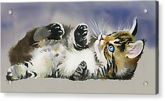 Resting In The Lord Acrylic Print