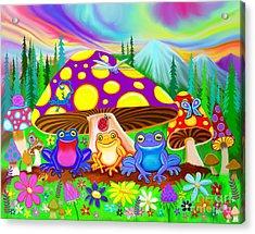 Return To Happy Frog Meadow Acrylic Print