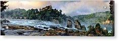 Rhinefalls, Switzerland Acrylic Print by Elenarts - Elena Duvernay photo