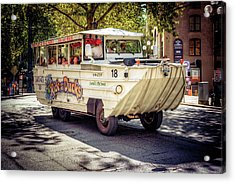 Acrylic Print featuring the photograph Ride The Ducks by Spencer McDonald