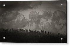 Acrylic Print featuring the photograph Ridgeline by Tim Nichols