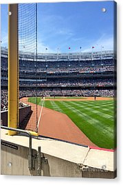 Yankee Stadium_right Field3 Acrylic Print by All Island Promos