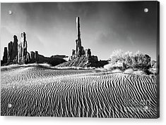 Acrylic Print featuring the photograph Rippled Dunes by Scott Kemper