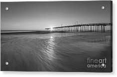 Rise And Shine At Nags Head Pier Acrylic Print