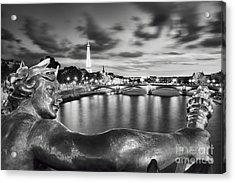 River Seine - Paris Acrylic Print by Rod McLean