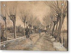 Road In Etten, 1881 Acrylic Print