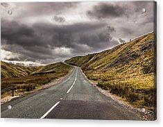 Road To Nowhere Acrylic Print by David Warrington