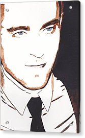 Robert Pattinson 11 Acrylic Print