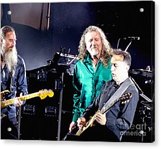 Robert Plant And The Sensational Space Shifters.1 Acrylic Print by Tanya Filichkin