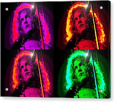 Robert Plant Acrylic Print by Martin James