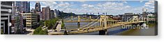 Roberto Clemente Bridge And Pnc Park Pittsburgh Pennsylvania Acrylic Print