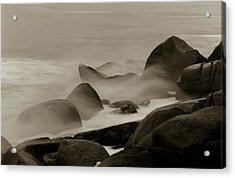 Rock And Sea Acrylic Print