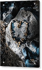 Rock Solid Love Acrylic Print by Jorgo Photography - Wall Art Gallery