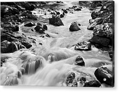 Rocky River Acrylic Print by Svetlana Sewell