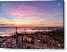 Rodanthe Sunrise Acrylic Print