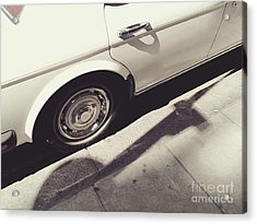 Acrylic Print featuring the photograph Rolls Royce Baby by Rebecca Harman