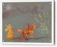 Roman Holiday Ix Acrylic Print