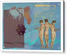 Roman Holiday Vi Acrylic Print