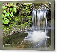 Acrylic Print featuring the photograph Romans 15 13 by Dawn Currie
