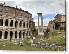 Rome - Theatre Of Marcellus Acrylic Print by Joana Kruse