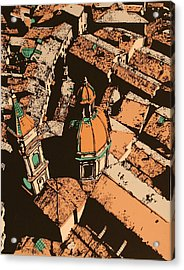 Roofs Of Bologna Acrylic Print by Biagio Civale