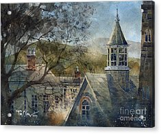 Rooftops Of Old Edwards Acrylic Print by Tim Oliver