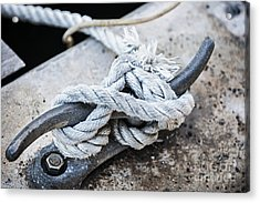 Rope On Cleat Acrylic Print