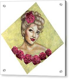 Rose Acrylic Print by Scarlett Royal