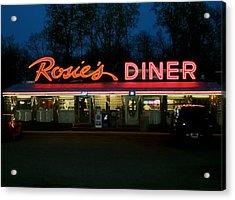 Rosie's Diner Acrylic Print