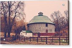 Round Barn Acrylic Print