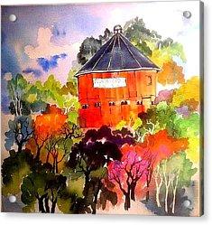 Round Barn ,santa Rosa Acrylic Print