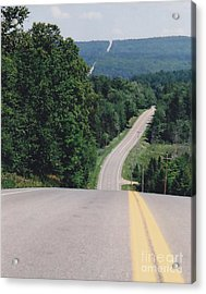 Route 6 Acrylic Print by Lewis Lowell