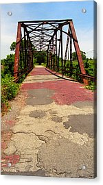 Route 66 - One Lane Bridge Acrylic Print