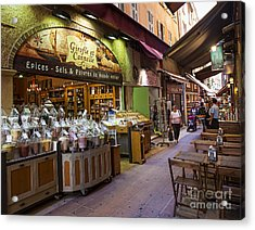 Rue Pairoliere In Nice Acrylic Print