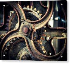 Rust Never Sleeps Acrylic Print by Wayne Sherriff