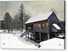 Acrylic Print featuring the photograph Rustic Holiday by Robin-Lee Vieira