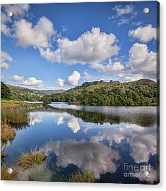 Acrylic Print featuring the photograph Rydal Water, English Lake District by Colin and Linda McKie