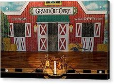 Ryman Opry Stage Acrylic Print